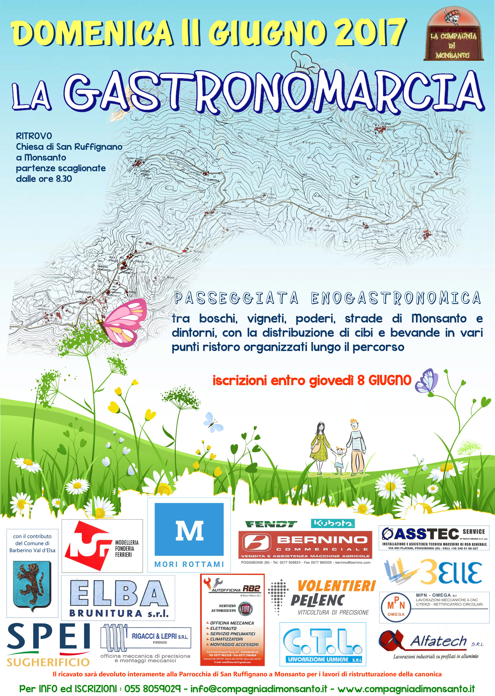 locandina Gastronomarcia2017